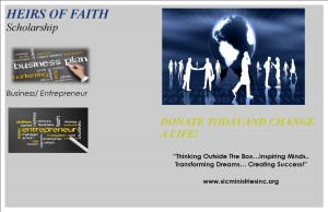 Heirs Of Faith Scholarship Banner